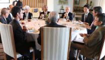 Dia de reunião com o Embaixador do Japão em Brasília