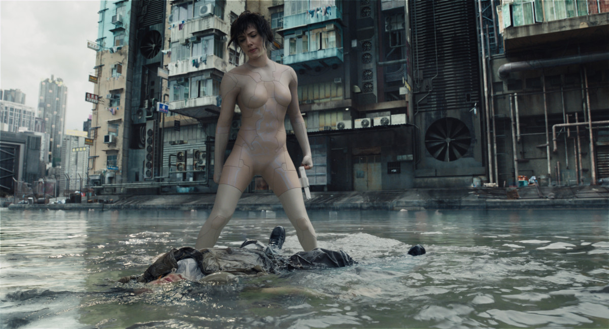 Ghost in the Shell - Major Water Fight